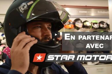 Présentation de l'équipement moto en vidéo par Total